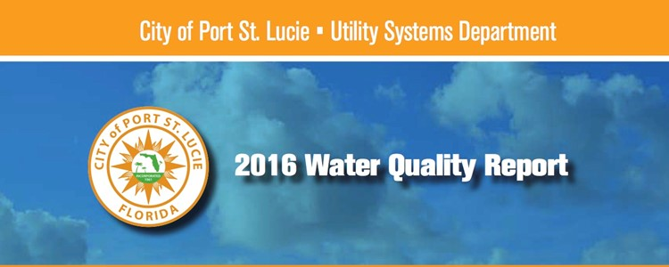 2016 Water Quality Report released