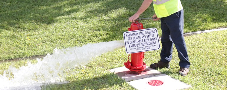 Hydrant flushing to begin Sept. 17