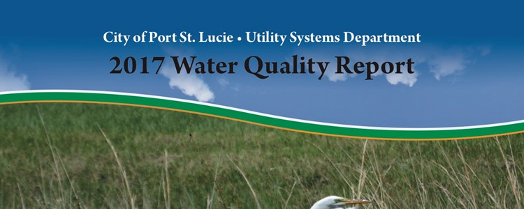 2017 Water Quality Report released