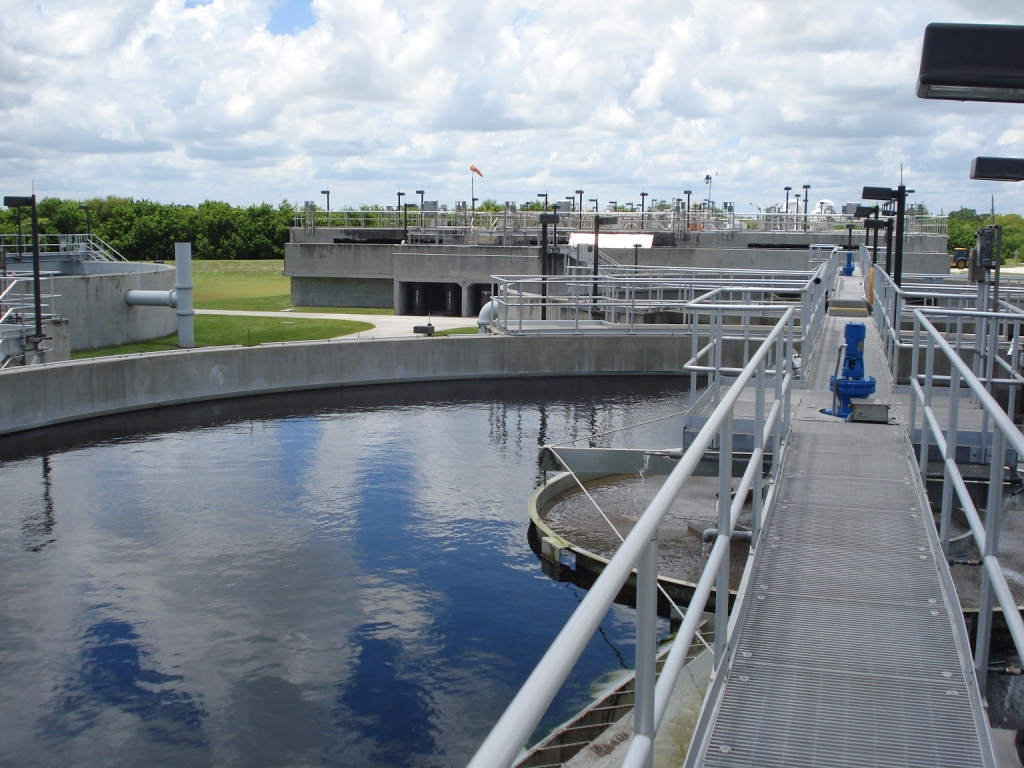 Exterior of Westport Wastewater Treatment Plant