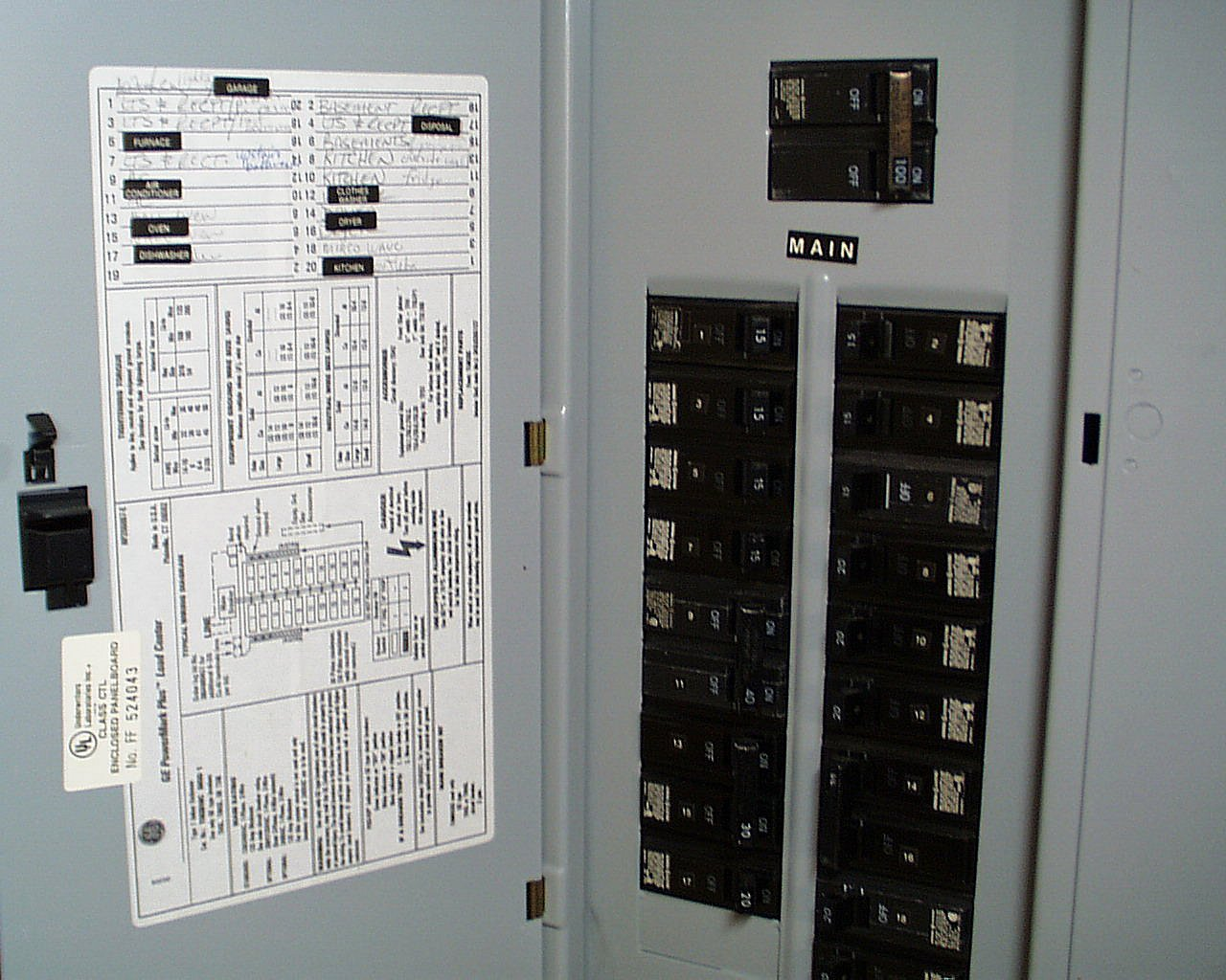 Storm Preparation Recovery Utility Systems Department Electrical Circuit Panel Residential