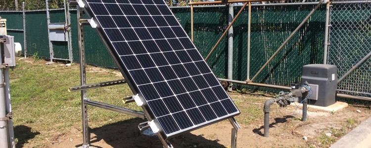 Solar system to power critical lift stations
