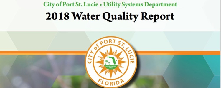 2018 Water Quality Report released