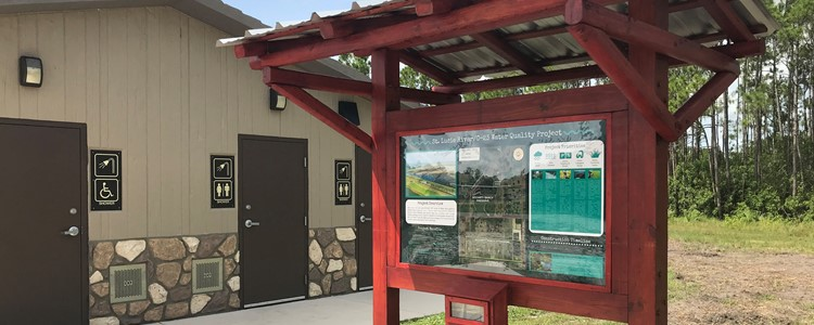 New kiosk provides Water Quality Project info